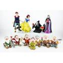 Colección figuras Disney Blancanieves y los 7 enanitos