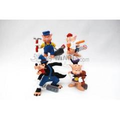 Col·lecció figures Disney els Tres porquets i el Llop