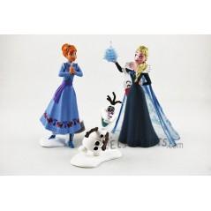 Figuras Frozen Una Aventura de Olaf