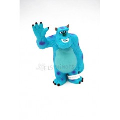 Figura Sully de Monstruos S.A de Disney
