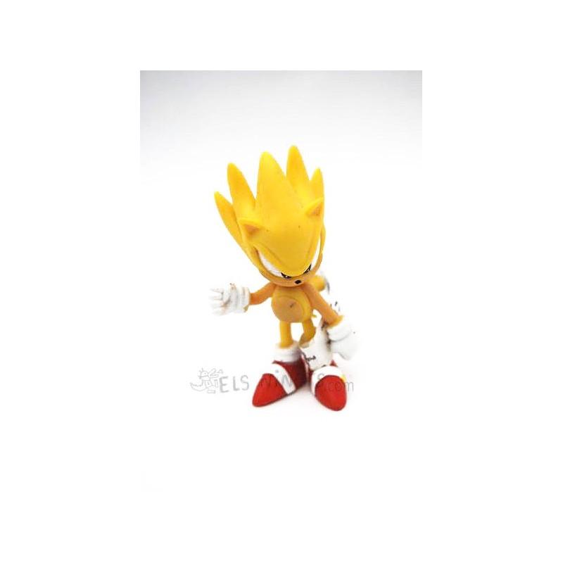 Figura Sonic amarillo