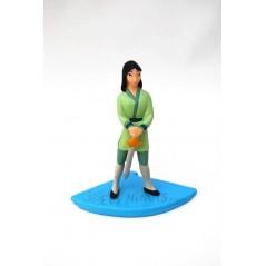 Figura Mulan guerrera Disney