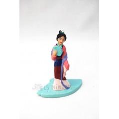 Figura Mulan princesa Disney
