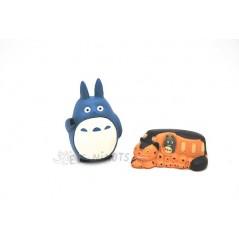 Figura Totoro y Gato bus (pack 1)