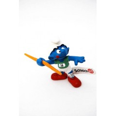 Figura Pitufo lanzador de jablina