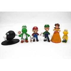 Colección Super Mario Bros mini figuras