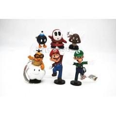 Colección Super Mario Bros mini figuras.2