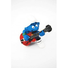 Figura Pitufo Guitarrista