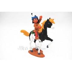 Figura Yakari amb Petit Tro