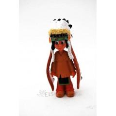 Figura Yakari con plumero