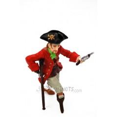 Figura Pirata Pata palo con pistola (Papo)
