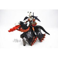 Figura Guerrero Dragón con caballo