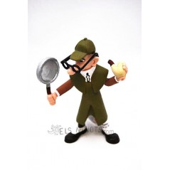 Figura Sherlock Mortadelo