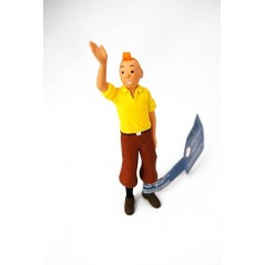 Figura Tintin saludando