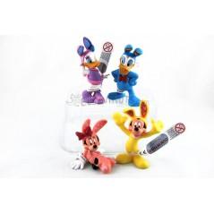 Colección figuras Mickey y Donald Pascua