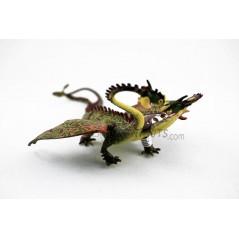 Figura Dragón Zippleback cómo entrenar tú dragón 2