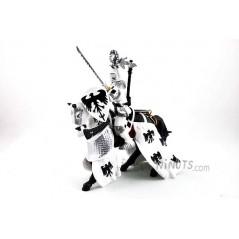Figura Caballero Blanco casco águila (Papo)