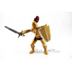 Figura Caballero Oro con Armadura (Papo)