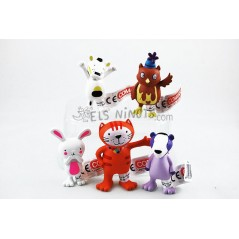 Col·lecció de figures de La Gata Lupe