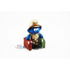 Figura Pitufo Selvático Explorador