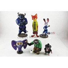 Colección figuras Zootropolis