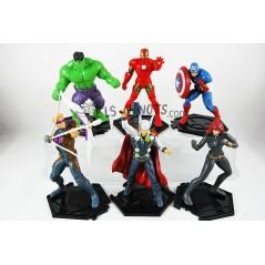 Colección figuras Los Vengadores