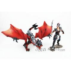 Figura lluitador amb drac Schleich