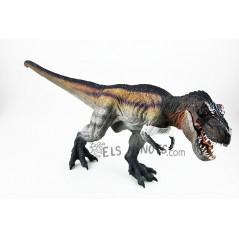 Figura Tiranosaurio Rex corriendo tricolor Papo