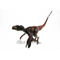 Figura Velociraptor amb plomes Papo