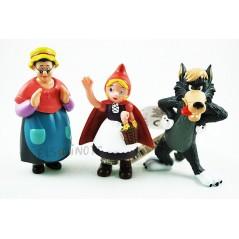 Col·lecció de figures caputxeta vermella