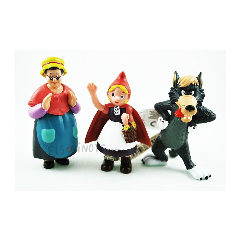 4946161ff70b Collection figurines Le petit Chaperon Rouge - elsninots.com