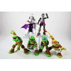 Colección figuras Tortugas Ninja