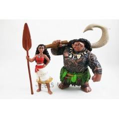 Figurines Vaiana pack