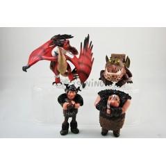 Figuras colección Cómo entrenar a tú dragón