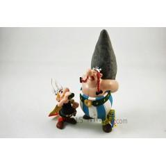 Figuras Asterix pócima y Obelix menhir