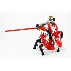 Figura caballero Torneo Dragón Rojo (Papo)