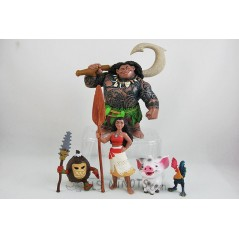 Collection figurines Vaiana