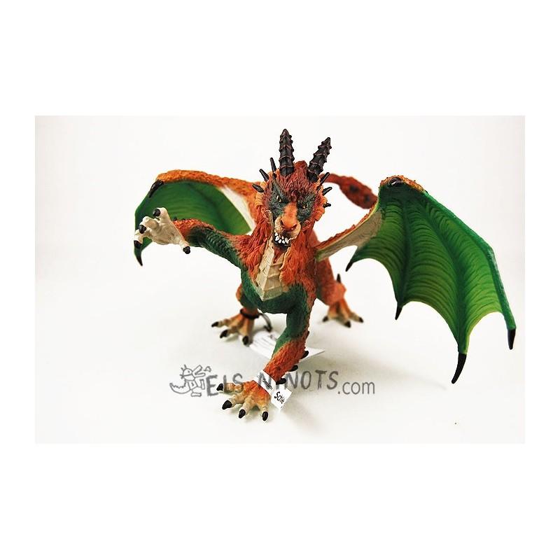 Figura Dragón Cazador Furtivo