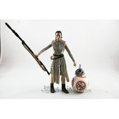 Figura Rey (Jakku) y BB8 Star Wars