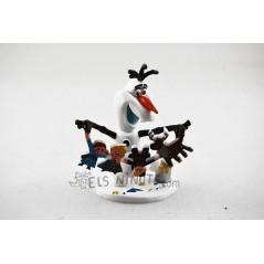 Figura Olaf recortes Frozen