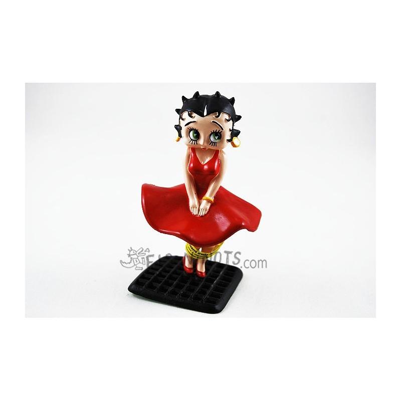 Figurine plastique Betty Boop Betty Boop robe au vent Plastoy