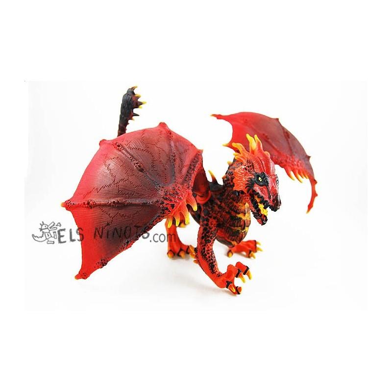 Figura Dragón de Lava
