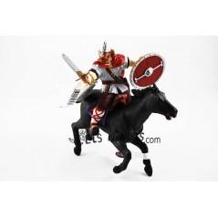 Figura Viking vermell