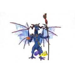 Figura dragón Brujo Violeta (Plastoy)