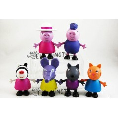 Figurines Peppa Pig Grands-pères et Amis