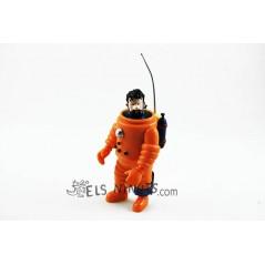 Figura Catpitán Haddock astronauta