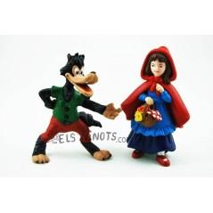 Figuras Caperucita roja y el Lobo (Papo)