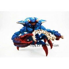 Figurine crabe de combat avec arme