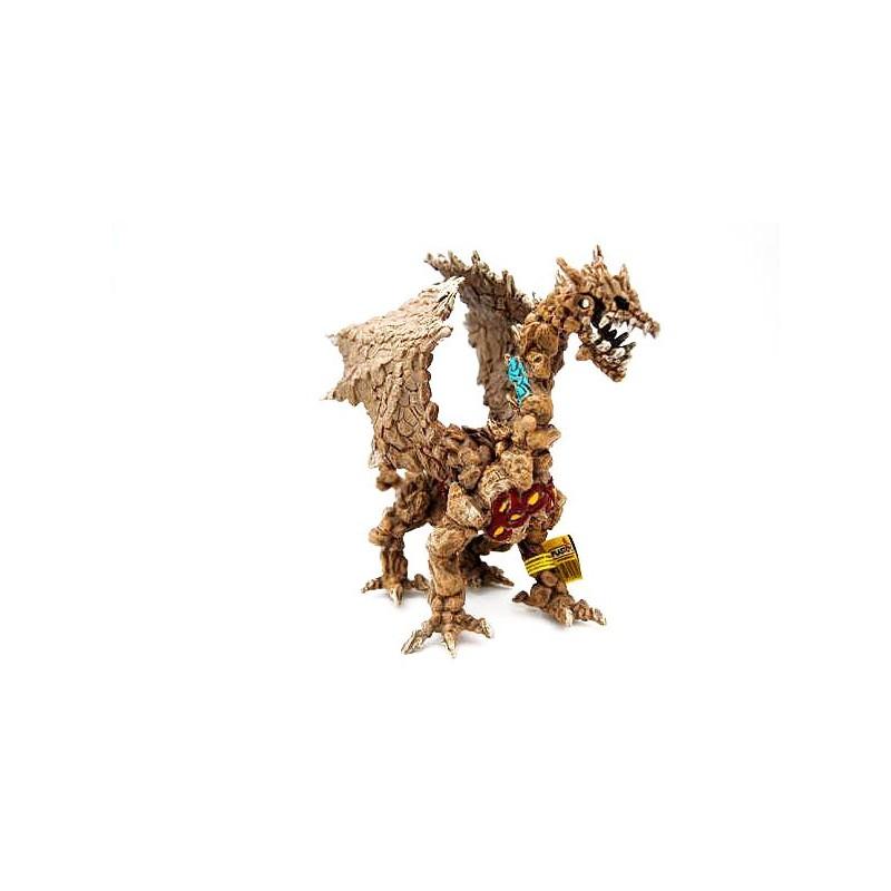 Figura dragón de Piedra (Plastoy)