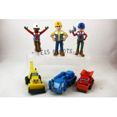 Colección figuras Bob El Constructor